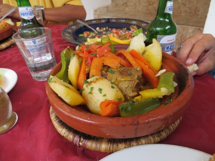 Tajine in the Dades Gorges